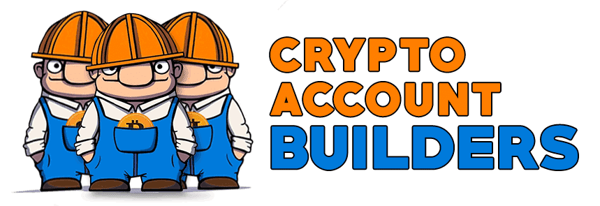 Crypto Account Builders Main Logo Build your small cryptocurrency account into a massive success