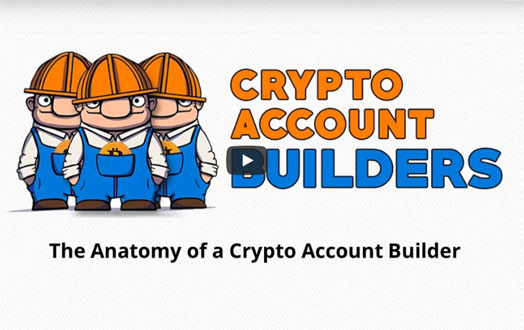 Crypto Account Builders - Build Your Crypto Accounts to